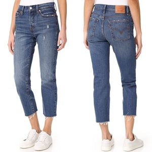 Levi's High Rise Wedgie Jeans Lasting Impression